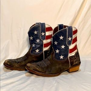 ❤️🤍💙Stars and Stripes American Boots💙🤍❤️